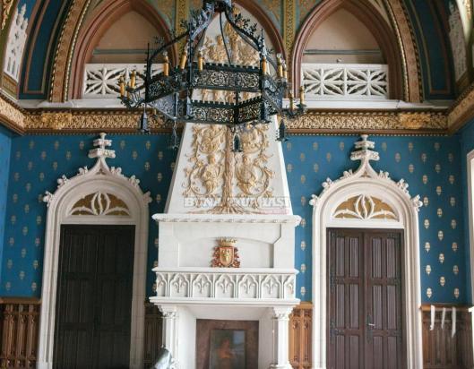 Palatul Culturii Iasi Palace of Culture interior Moldova Moldavia Romania