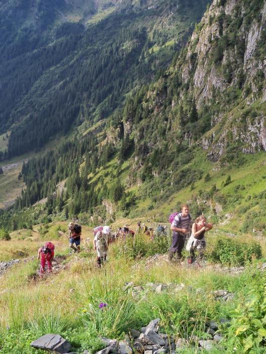 Valea Rea Bad Valley fagaras Carpathian mountains Romania moldoveanu romanians most beautiful landscapes europe
