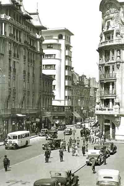Old Bucharest Little Paris vechiul bucuresti interbelic Romania capital city