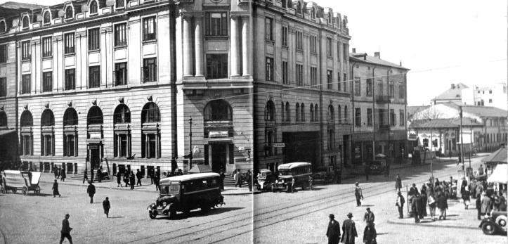 old interwar Bucharest Romania bucurestiul interbelic poze 2 romanian capital city