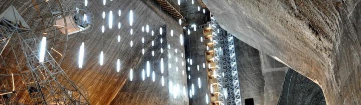 Salina Turda salt mine Romania Cluj Transylvania eastern europe 1
