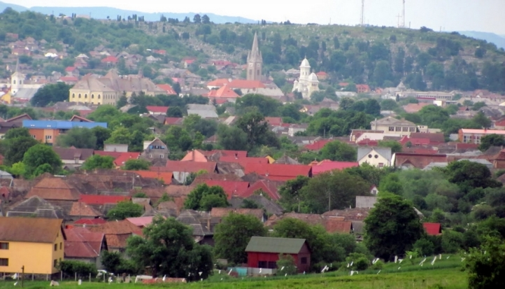 Turda city - where the salt mine is located