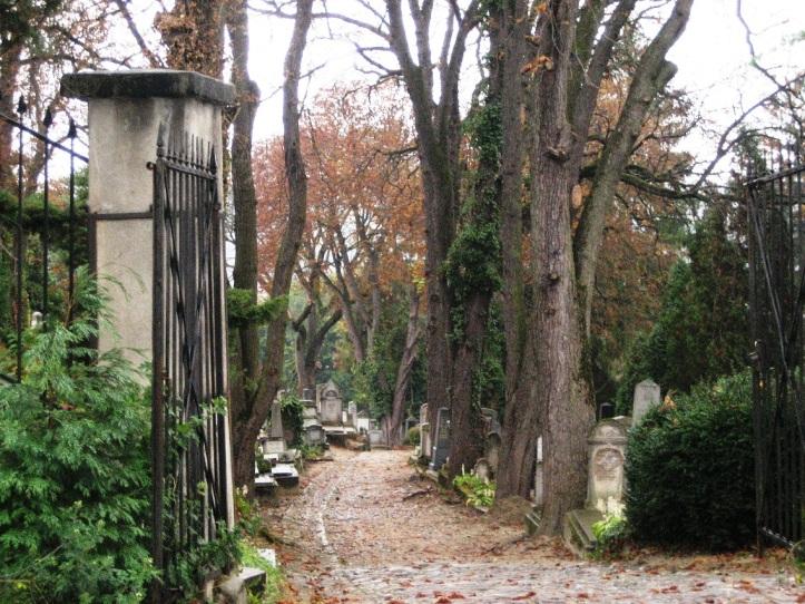 sighisoara romania old cemetery entrance