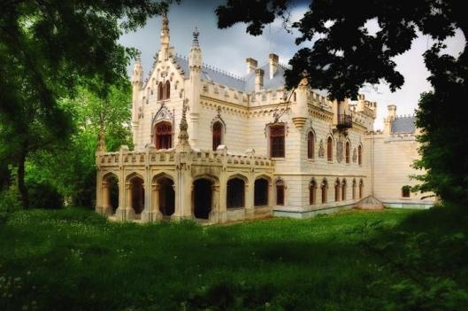 Sturdza palace Iasi Miclauseni Romania romanian palaces