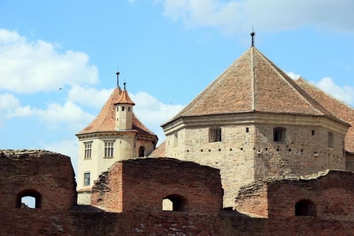 Medieval fortress Fagaras Transylvania Romania 5