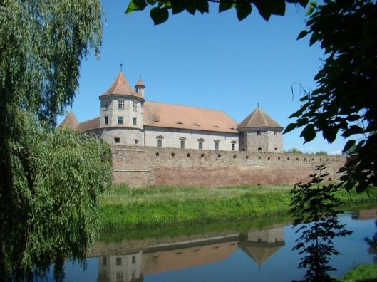 Medieval fortress Fagaras Transylvania Romania 6