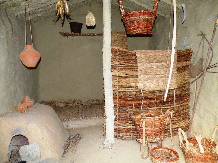 Gumelnita culture house interior Romania Bulgaria oldest neolithic civilizations old eastern europe