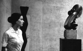 Constantin Brancusi artwork in 1957 culture romanian people