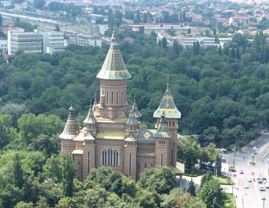Romania Timisoara Orthodox Cathedral church christian romanians