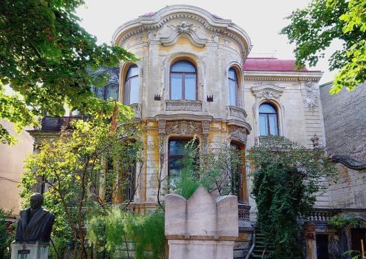 Casa Macca Bucuresti Institutul de Arheologie Vasile Pârvan Bucharest Romania architecture little paris 4