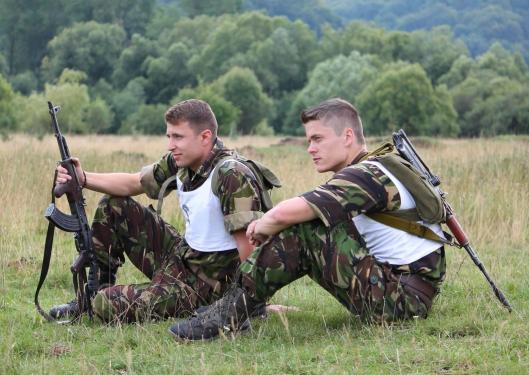 Fagaras mountains vanatori de munte Mountains Hunters romanian men soldiers