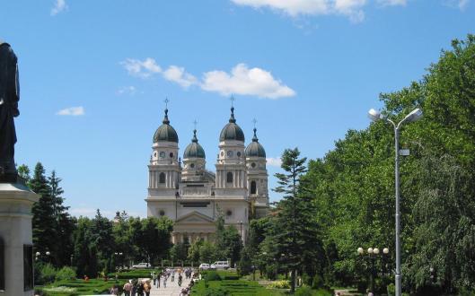 Catedrala Mitropolitana Iasi Metropolitan Cathderal Christian Orthodox romanian churches jassy Moldova Moldavia