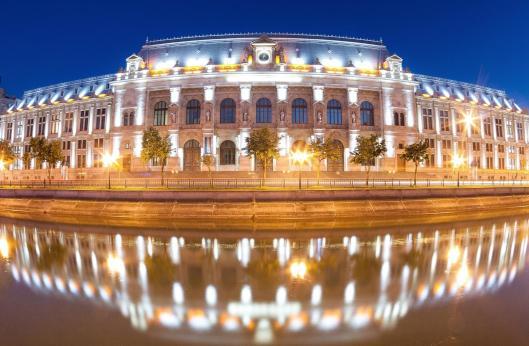 palatul de justitie justice palace bucharest romania dambovita river