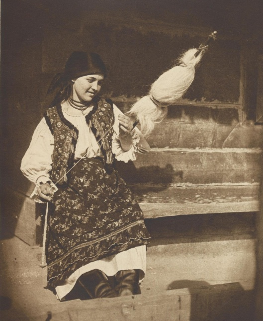 Romania peasant woman